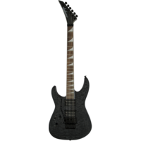 Jackson X Series Soloist SLXLH, Left Handed, Transparent Black