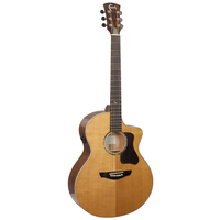 Faith PJE Legacy Neptune Electro-Acoustic, All Solid, Torrefied Sitka Spruce Top, African Khaya Mahogany Back