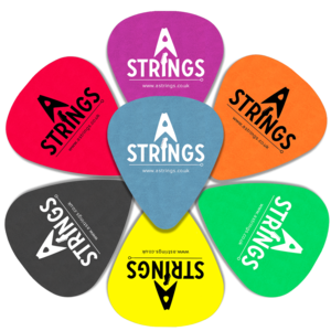 A Strings Plectrum, Standard Tortex, 12-Pack