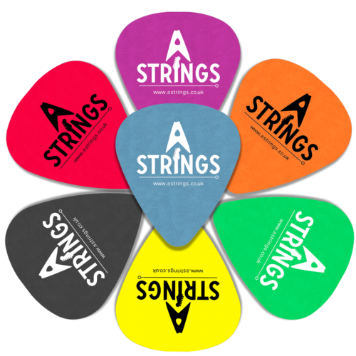 A Strings A Strings Plectrum, Standard Tortex, 12-Pack