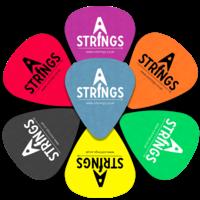 A Strings Plectrum, Standard Tortex
