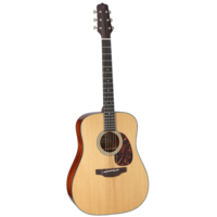 Takamine EF340S-TT Dreadnought, All Solid, Thermal Top, Mahogany Back w/TLD-2 Pickup