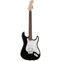 Squier Bullet Stratocaster HSS Hard Tail, Black