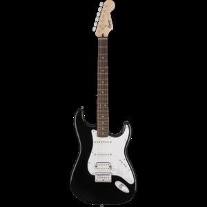 Squier Bullet Stratocaster HSS Hard Tail, Black