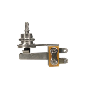 Switchcraft 3-Way LP Toggle Switch, Right-Angled, Nickel
