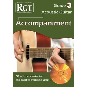 RGT Acoustic Guitar Playing Grade 3 Accompaniment