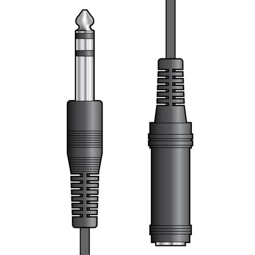AV Link AV:Link 6.3mm Jack Plug to 6.3mm Jack Socket, 6m