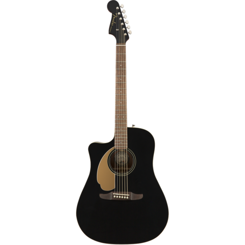 Fender Fender Redondo Player Left-Handed, Solid Sitka Spruce Top, Mahogany Back, Jetty Black