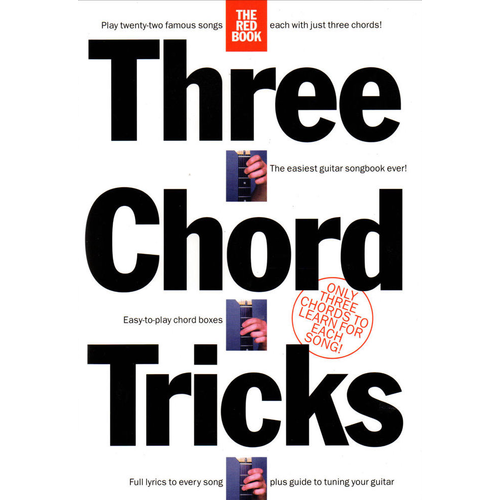 Wise Publications Three Chord Tricks: The Red Book