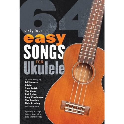 Wise Publications 64 Easy Songs For Ukulele