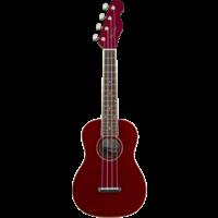 Fender Zuma Classic Concert Ukulele, Candy Apple Red