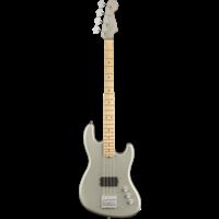 Fender USA Flea Jazz Bass Active, Satin Inca Silver