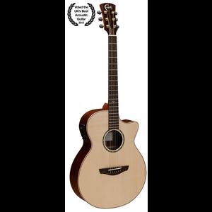 Faith HiGloss Venus Electro-Acoustic, All Solid, Engelmann Spruce Top, Mahogany Back