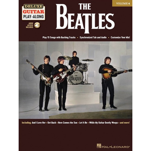 Deluxe Guitar Play-Along Volume 4: The Beatles