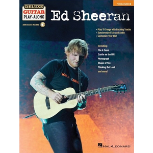 Deluxe Guitar Play-Along Volume 9: Ed Sheeran
