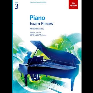 ABRSM Piano Exam Pieces: 2019-2020 - Grade 3 (Book Only)