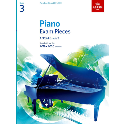 ABRSM Publishing ABRSM Piano Exam Pieces: 2019-2020 - Grade 3 (Book Only)