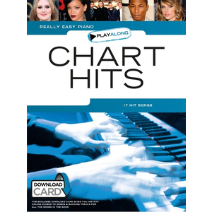 Really Easy Piano Playalong: Chart Hits (Book/Audio Download)