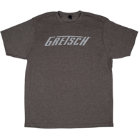 Gretsch T-Roof Logo T-Shirt, Heathered Brown