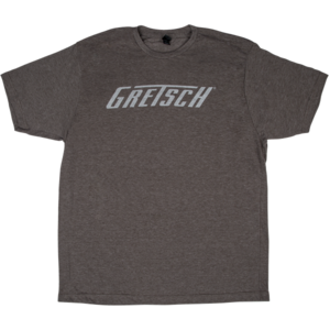 Gretsch T-Roof Logo T-Shirt, Heathered Brown