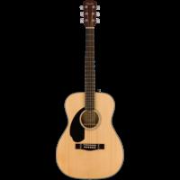 Fender CC-60SLH  Left Handed Concert Guitar, Solid Spruce Top, Mahogany Back