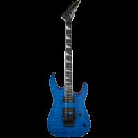 Jackson JS Series Dinky Arch Top JS32Q, Transparent Blue