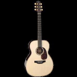 Takamine EF7M-LS OM Guitar, All Solid, Northwest Lutz Spruce Top, Indian Rosewood Back w/TLD-2 Pickup