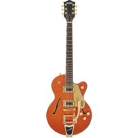 Gretsch G5655TG Electromatic Centre Block Jr w/Bigsby, Gold Hardware, Orange Stain