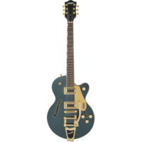 Gretsch G5655TG Electromatic Centre Block Jr, w/Bigsby, Gold Hardware, Cadillac Green