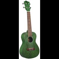 Eddy Finn Green Ash Concert Ukulele