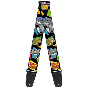 Buckle Down Tom & Jerry Guitar Strap