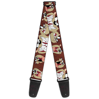 Buckle Down Looney Tunes Taz Guitar Strap