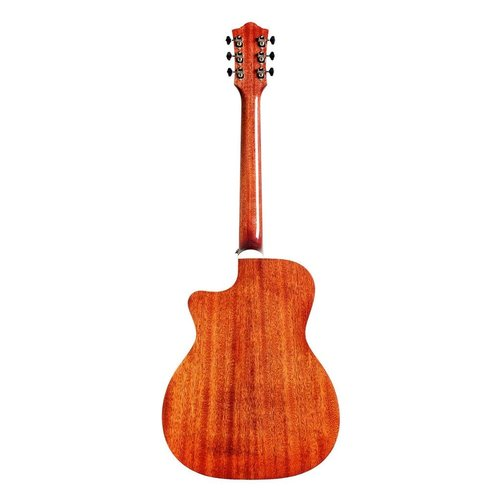 Guild Guild OM-140-CE Electro-Acoustic Concert Guitar, All Solid, Sitka Spruce Top, African Mahogany Back, Antique Sunburst
