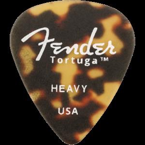 Fender Tortuga 351 Picks, 6-Pack