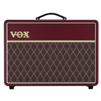 Vox AC10C1 Limited Edition 10W Valve Amp Combo, Maroon Bronco