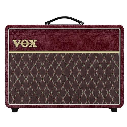 Vox Vox AC10C1 Limited Edition 10W Valve Amp Combo, Maroon Bronco