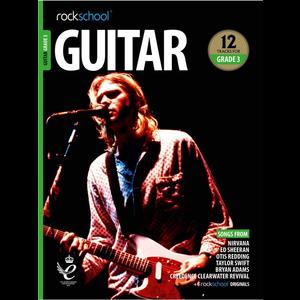 Rockschool Guitar - Grade 3 (2018+)