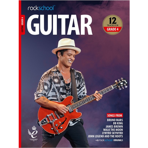 Rockschool Ltd. Rockschool Guitar - Grade 4 (2018+)