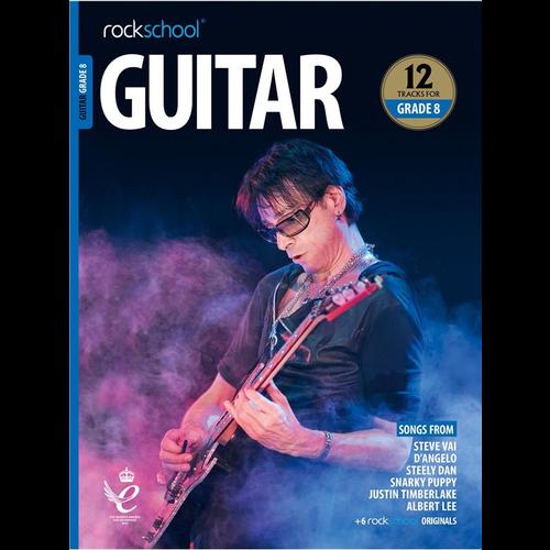 Rockschool Ltd. Rockschool Guitar - Grade 8 (2018+)