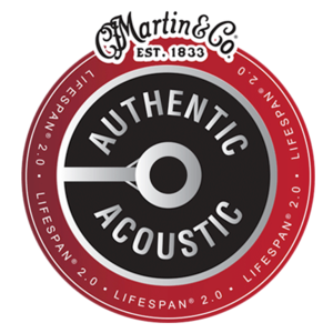 Martin 12-String Authentic Acoustic Lifespan 2.0 String Set, 80/20 Bronze, MA180T Extra Light .010-.047