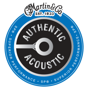Martin 12-String Authentic Acoustic SP Guitar String Set, Phosphor Bronze, MA500 Extra Light .010-.047