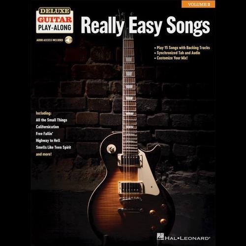 Hal Leonard Deluxe Guitar Play-Along Volume 2: Really Easy Songs