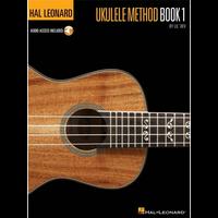 Hal Leonard Ukulele Method: Book 1 (Book/Audio)