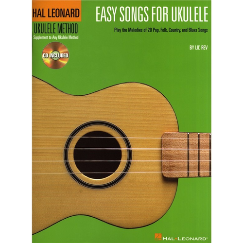 Hal Leonard Hal Leonard Ukulele Method: Easy Songs for Ukulele