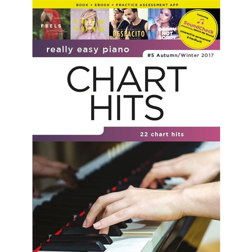 Wise Publications Really Easy Piano: Chart Hits - #5 Autumn/Winter 2017