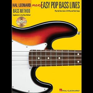 Hal Leonard Bass Method: More Easy Pop Bass Lines