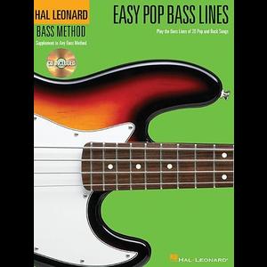 Hal Leonard Bass Method: Easy Pop Bass Lines