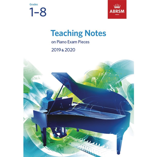 ABRSM Publishing ABRSM: Teaching Notes - Piano Exam Pieces 2019-2020 (Grades 1-8)