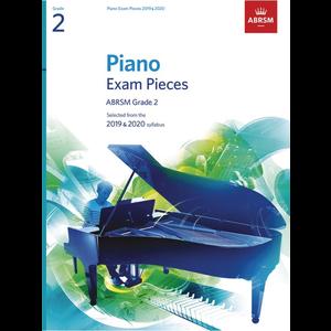 ABRSM Piano Exam Pieces: 2019-2020 - Grade 2 (Book Only)