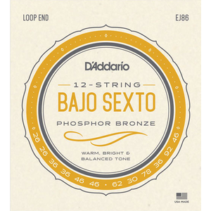 D'Addario EJ86 Bajo Sexto String Set
